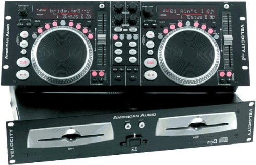 American Audio Velocity Mp3 Dual Scratching Cd Player