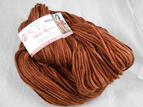 Misti Alpaca: Tonos Worsted Yarn color TW17 Leatherly