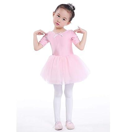 48d4de16e Amazon.com  Funnmart Tutu Pink Princess Ballet Dress Girls Toddler ...