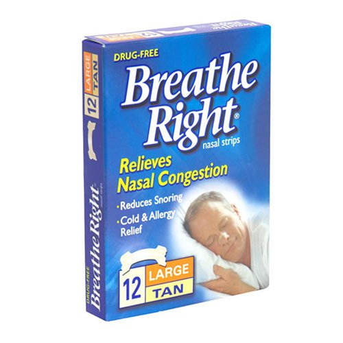 Breathe Right Strips Relieves Congestion product image