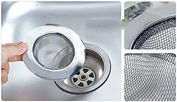 qsoleil Filtro de Drain para fregadero de acero inoxidable tamiz de fregadero de cocina//cuarto de ba/ño