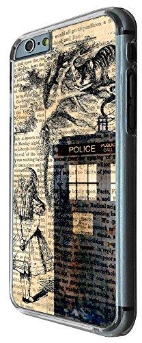 430 - Alice in wonderland Doctor Who Tardis Call Box Design iphone 6 PLUS / iphone 6 PLUS S 5.5'' Coque Fashion Trend Case Coque Protection Cover plastique et métal