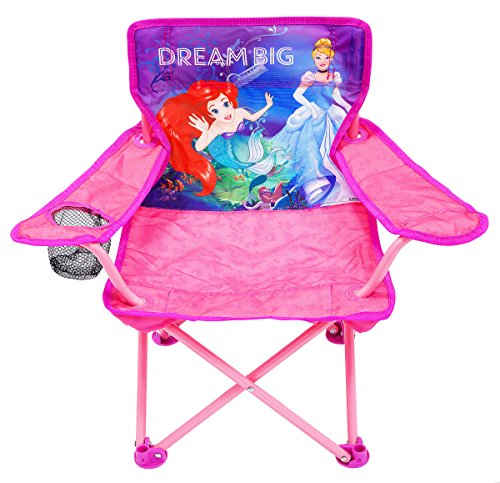 Disney Princess Heart Strong Fold N Go Chair Furniture by Disney Princess (Image #2)