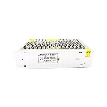 anycubic DC 12 V 20 A universal tira de LED regulado fuente de ...