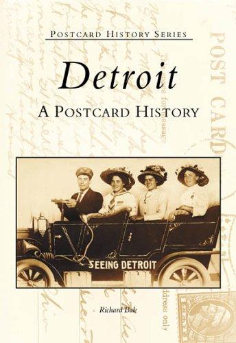 Detroit:  A  Postcard  History  (MI)   (Postcard  History  Series) ()