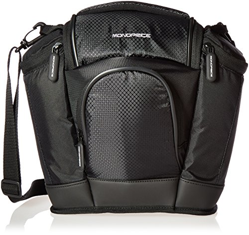 - Monoprice 109583 SLR and Accessories Large Camera Bag (Black)