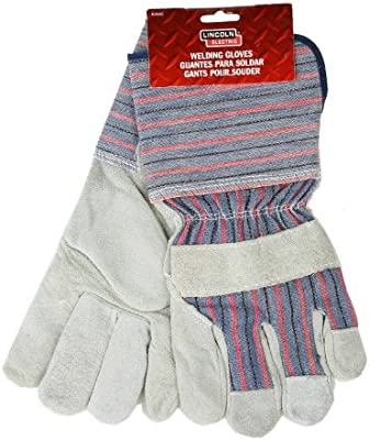 Lincoln Electric KH640 Welding Work Glove The Lincoln Electric Company Pack of 6 Gray
