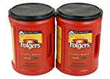 #1: Folgers Classic Medium Roast Coffee, 2-Pack of 48 Ounce Cans