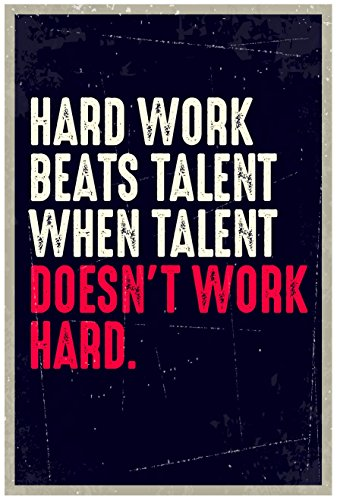 JSC163 Hard Work Beats Talent When Talent Doesn