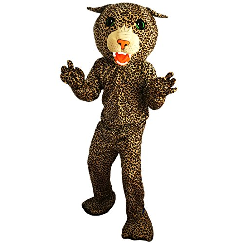 Leopard Panther Mascot Costume Cartoon Character Adult Sz Real Picture -