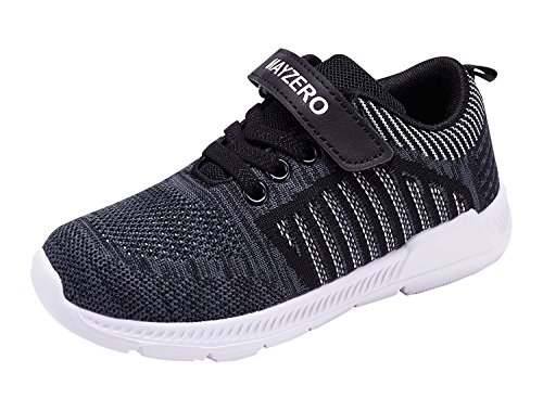 Vivay Kids Tennis Shoes Boys Girls Lightweight Casual Walking Shoes Velcro Running Sneakers – DiZiSports Store