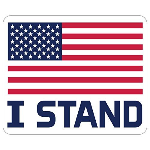 Promark Stand - WUSA Usa Unisex DCF1US01I Stand USA Flag Decal - 4.62