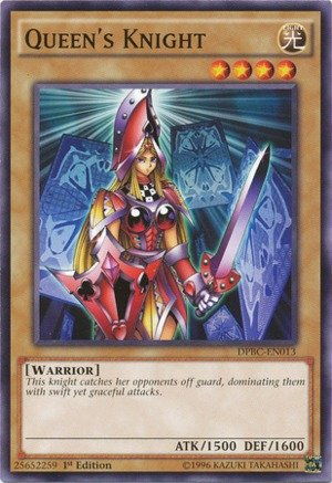 Yu-Gi-Oh! - Queen's Knight  - Duelist Pack 16: Battle City