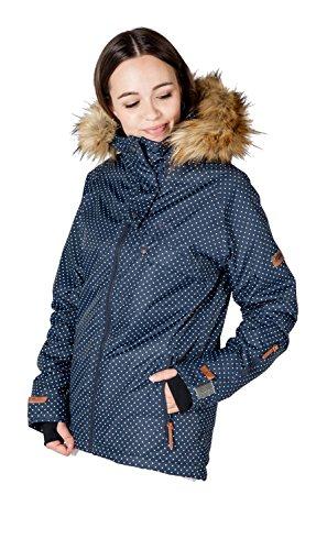 Veste D'hiver Cnsrd Aop Femme Jilian Marine 50506 fBnFnPa6W