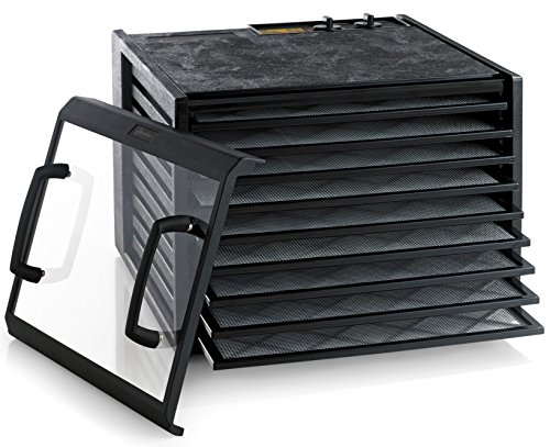 Discover Bargain Excalibur 3926TCDB 9-Tray Electric Food Dehydrator with Clear Door Adjustable Tempe...