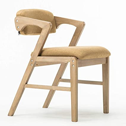 Swell Amazon Com Ltoota Vintage Solid Wood Dining Chair Inzonedesignstudio Interior Chair Design Inzonedesignstudiocom