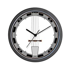 CafePress - Banjo - Unique Decorative 10 Wall Clock