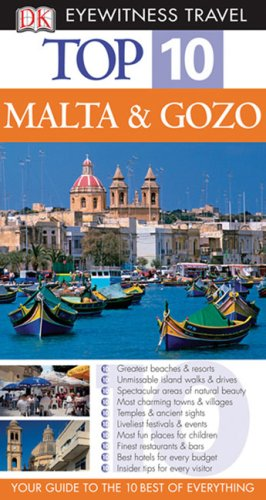 Top 10 Malta and Gozo (Eyewitness Top 10 Travel Guides)