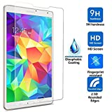 IVSO 3 Pack of Premium Clear Screen Protectors for Samsung Galaxy Tab E 9.6-Inch Tablet