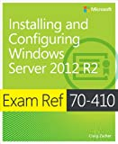 img - for Exam Ref 70-410 Installing and Configuring Windows Server 2012 R2 (MCSA) book / textbook / text book