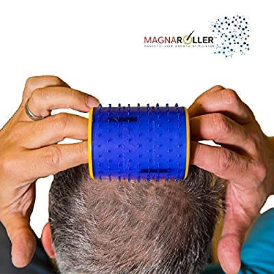 MagnaRoller Hair Scalp Treatment- Hair Loss Treatment for Men and Women with Thinning, Dry and Dull Hair - Increases Blood Flow to Scalp & Hair follicles for Thicker, Shinier and Healthier Hair.