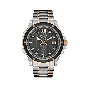 Bulova Men's Two Tone Watch