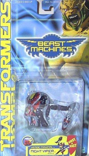 Transformers Beast Machines NIGHT VIPER cobra nightviper
