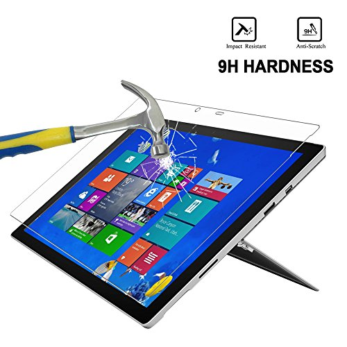 surface pro 4 screen protector megoo anti blue light tempered glass protector for microsoft. Black Bedroom Furniture Sets. Home Design Ideas