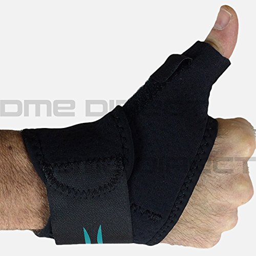 5803-BLK Orthosis Thumb Modabber Neoprene Universal Black Part# 5803-BLK by Hely & Weber Qty of 1 (Blk Part)