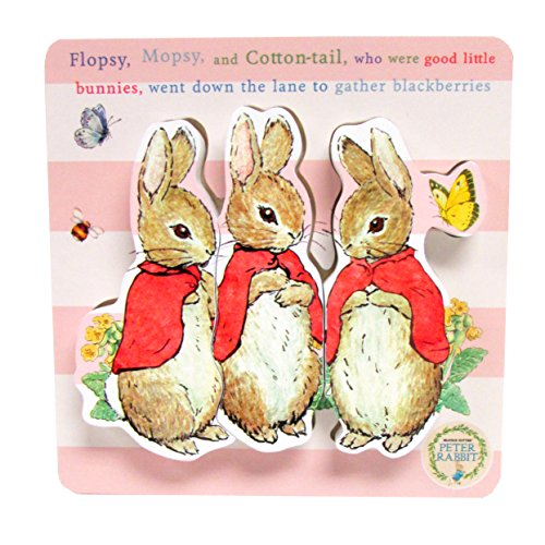Beatrix Potter, Peter Rabbit 3 Piece Flopsy Wooden Puzzle