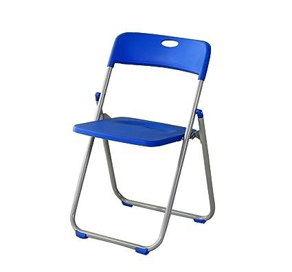Folding Chairs Silla Plegable/Respaldo de plástico/Portátil ...