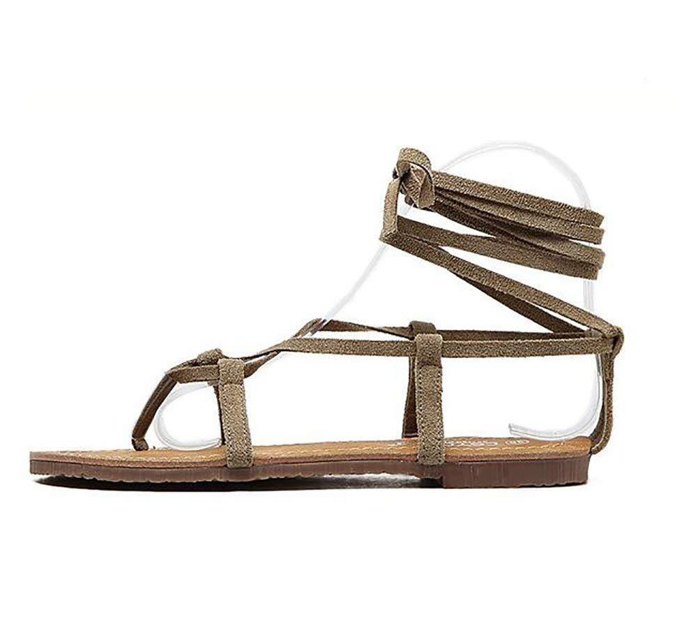 Oudan Damen Damen Damen Sandalen Komfortabel Atmungsaktiv Slipper Verschleißfest Rutschfest rotuzieren Walking Müdigkeit, braun, 39 (Farbe   Braun, Größe   37) 3bdbf5