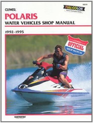 W819 Clymer Polaris Water Vehicles 1992-1995 Shop Manual