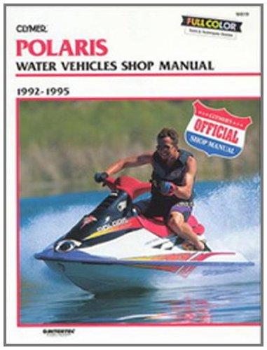 amazon com clymer polaris 92 95 personal watercraft manual sports rh amazon com Sea-Doo Jet Ski Manual Tiger Shark Jet Ski Manual