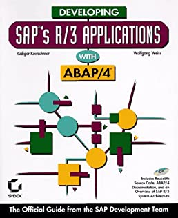 developing sap s r 3 applications with abap 4 rudiger kretschmer rh amazon com SAP Software Tutorial SAP Navigation Menu