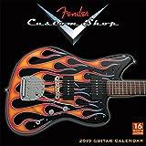 Fender Custom Shop Guitar 2019 Wall Calendar, 12 x 12, (CA-0386)