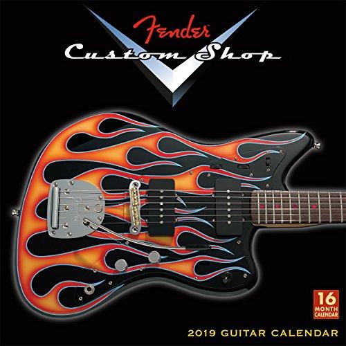 Fender Custom Shop Guitar 2019 Wall Calendar