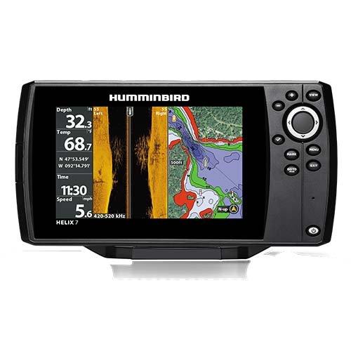 Humminbird 410340-1NAV Heli x 7 Chirp SI GPS G2N NAV Bundle