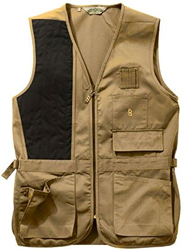 Bob Allen 240S Solid Shooting Vest - Khaki, Right Hand, Extra Large - 30168 by Unknown