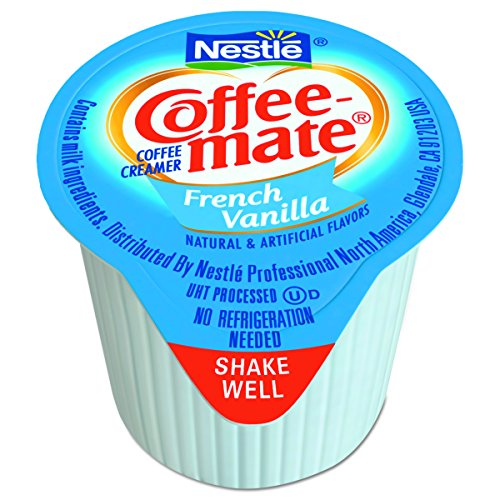 Large Product Image of NESTLE COFFEE-MATE Coffee Creamer, French Vanilla, liquid creamer singles, Pack of 180