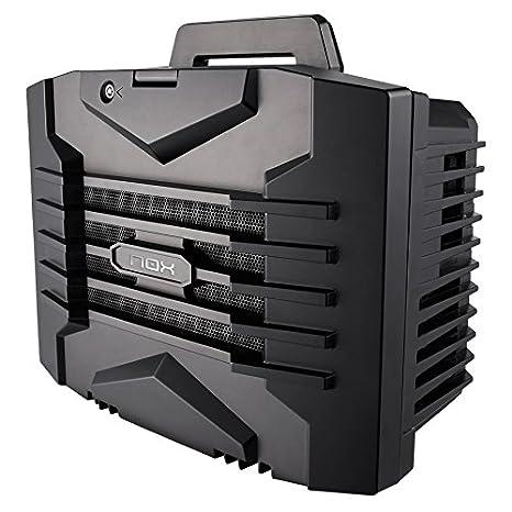 NOX LANBX Mini-Tower Negro Carcasa de Ordenador - Caja de Ordenador (Mini-