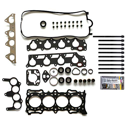 cciyu Replacement fit for Head Gasket Kit Honda Odyssey Acura CL Isuzu 1998-2002 HS26155PT Head Gaskets Set Kits with Bolts