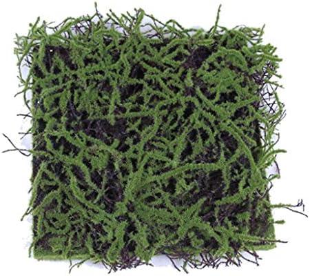 人工植物苔芝生40cm×40cm 24個合成人工芝 (Size : 4pack)