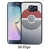 Fashion Designed Pokemon 20 Black Samsung Galaxy S6 Edge Phone Case