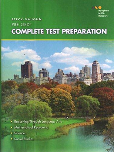 Steck-Vaughn Pre-GED: 2014 Complete Preparation