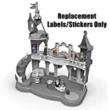 Fisher-Price Disney Princess Musical Dancing Palace by Little People - CGT78 - Replacement Labels/Stickers