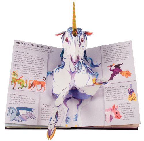 Encyclopedia Mythologica: Fairies and Magical Creatures Pop-Up by Candlewick Press (Image #1)