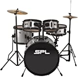 Sound Percussion Labs Kicker Pro - 5 Piece Drum Set with Stands