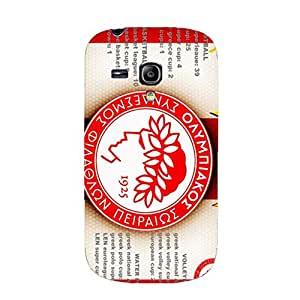 Graceful Custom 3D Oiympiakos Piraeus FC Phone Case for Samsung Galaxy S3 Mini Olympiacos CFP Series Cover Case