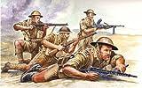 british army kit - Italeri WW2 British 8th Army (#6077)